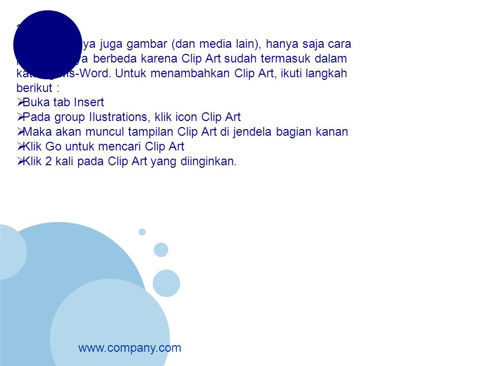 2. Clip Art