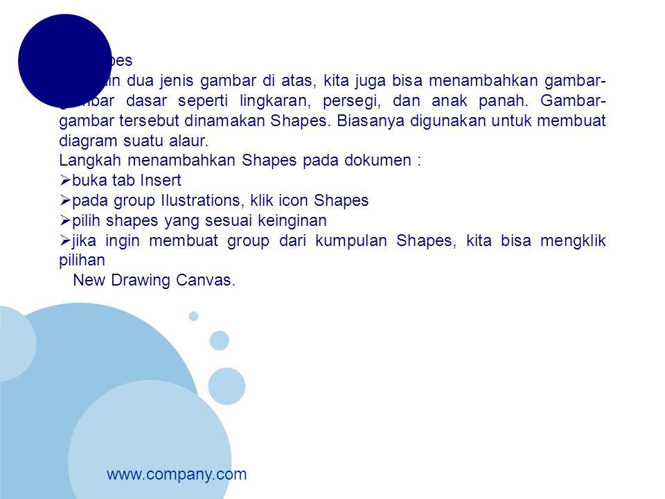 3. Shapes