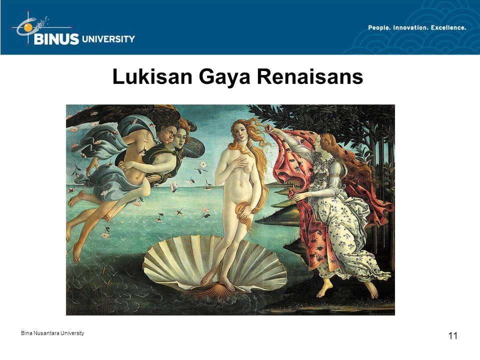 Lukisan Gaya Renaisans