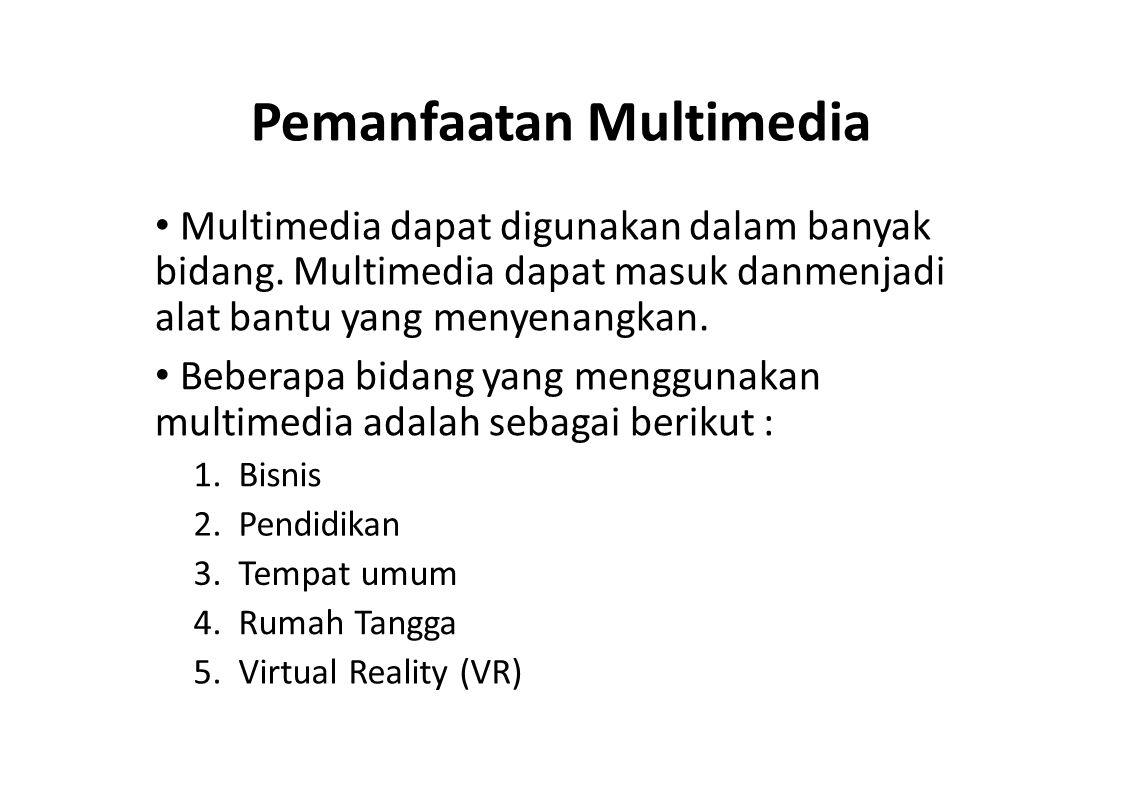 Pemanfaatan Multimedia