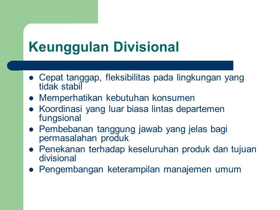 Keunggulan Divisional