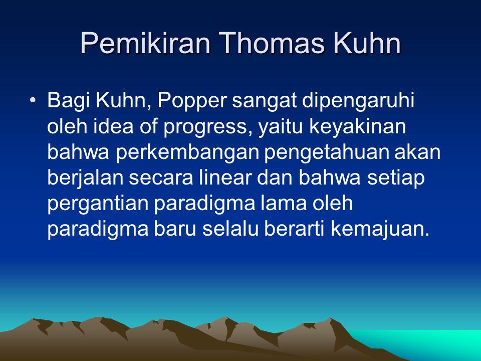 Pemikiran Thomas Kuhn