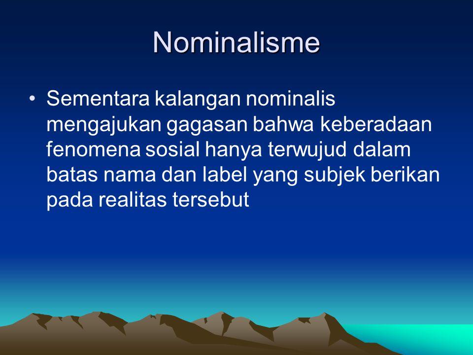 Nominalisme