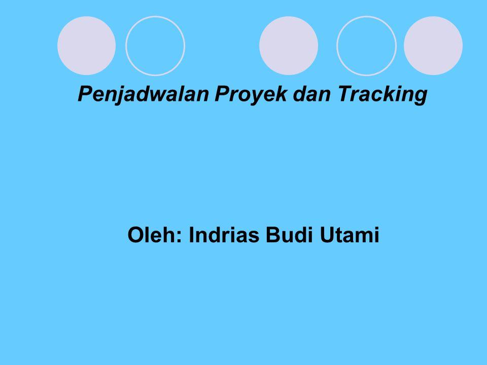 Penjadwalan Proyek dan Tracking