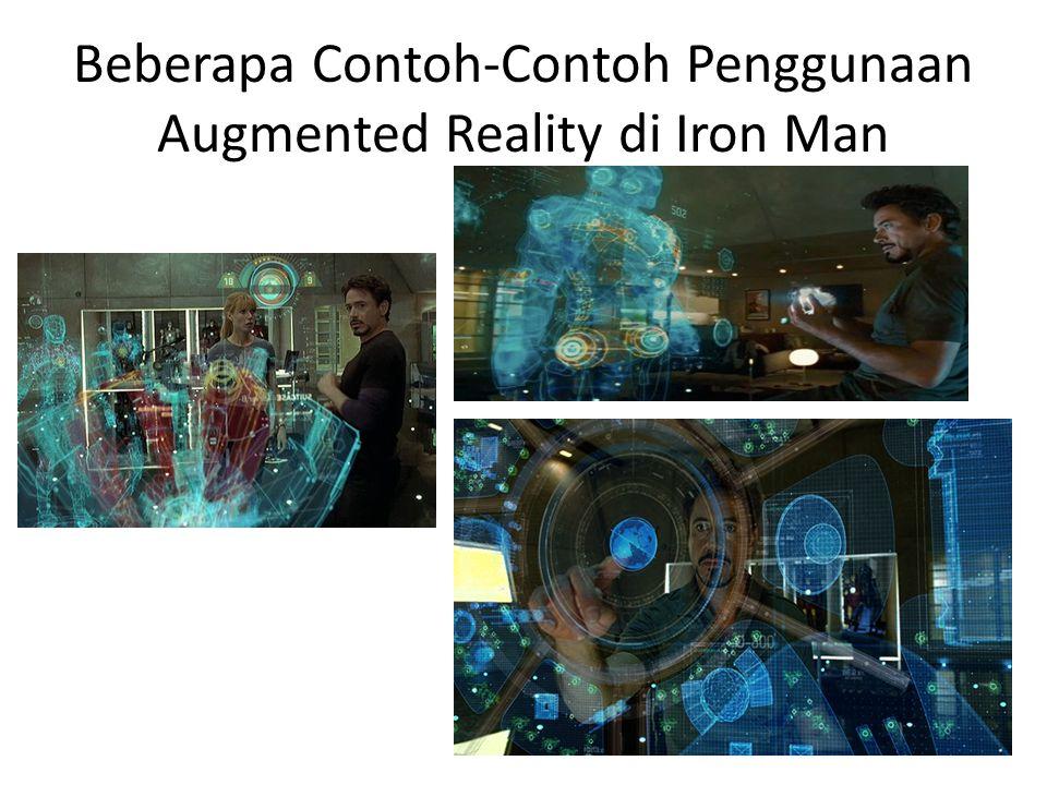 Beberapa Contoh-Contoh Penggunaan Augmented Reality di Iron Man