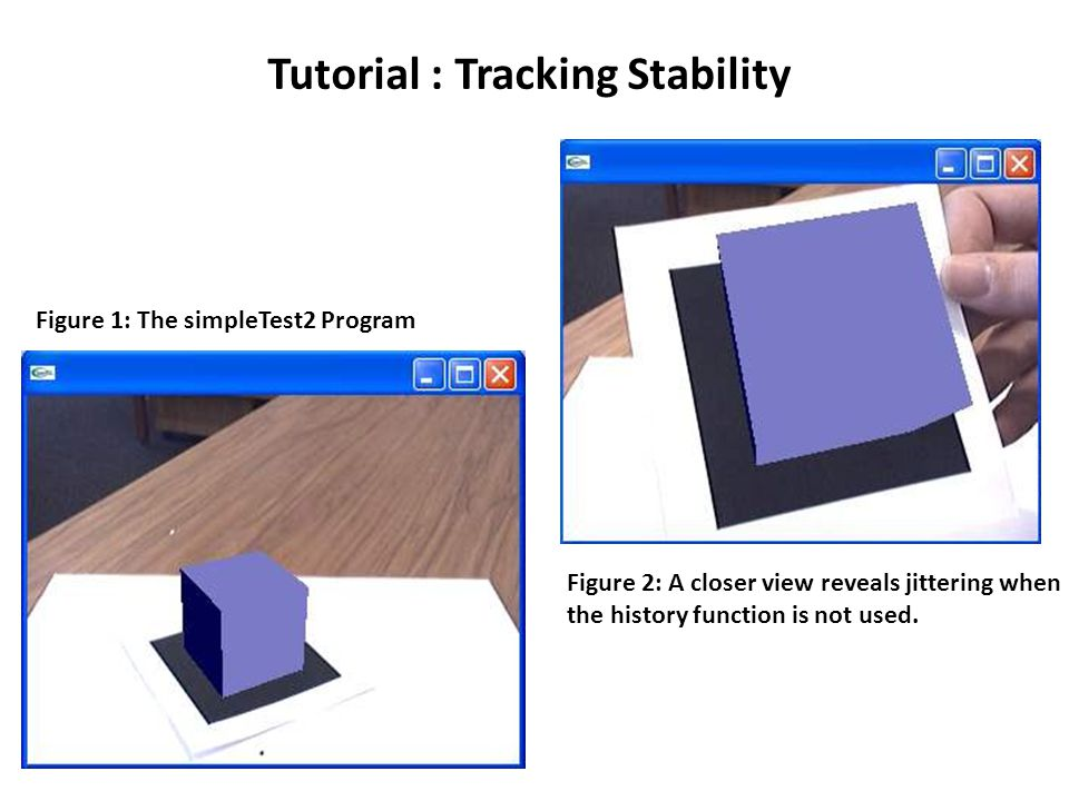 Tutorial : Tracking Stability