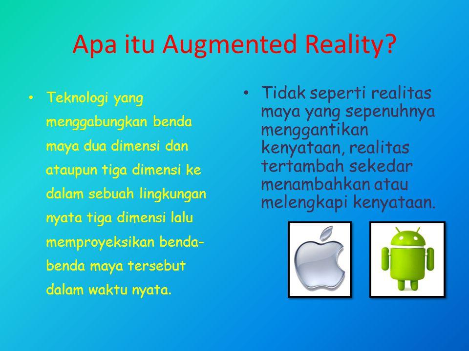 Apa itu Augmented Reality