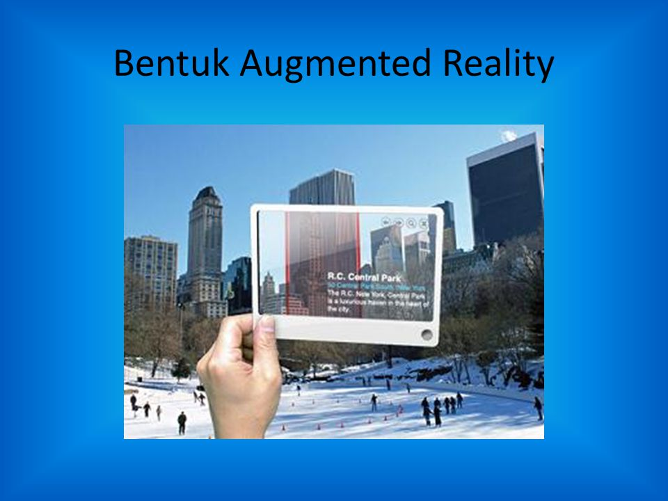Bentuk Augmented Reality