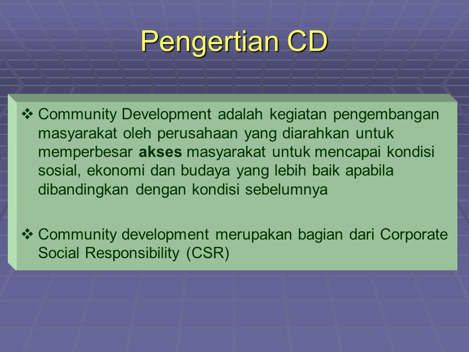 Pengertian CD