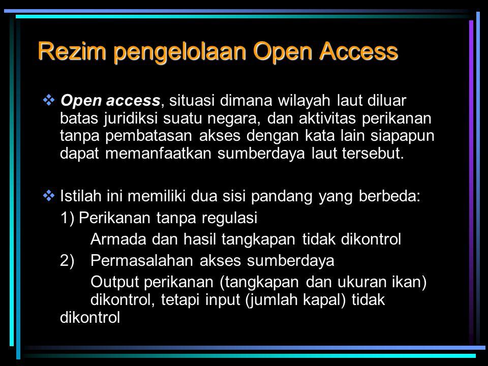 Rezim pengelolaan Open Access