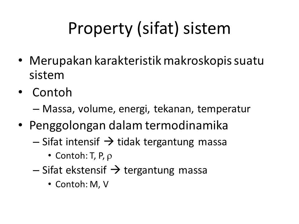 Property (sifat) sistem