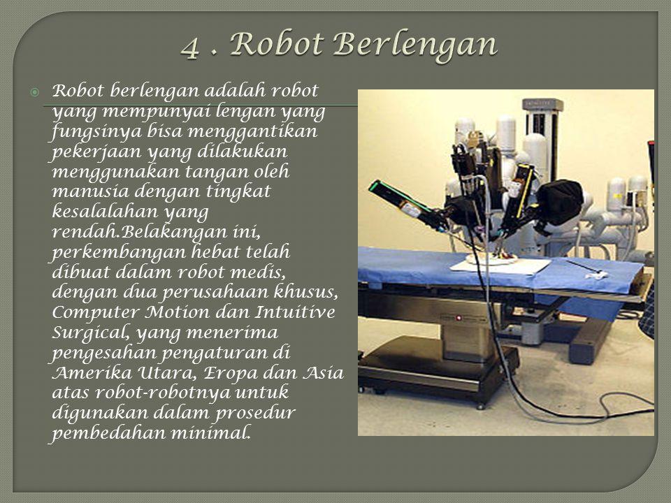 4 . Robot Berlengan