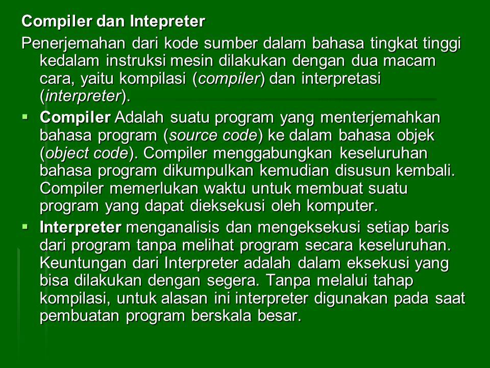 Compiler dan Intepreter