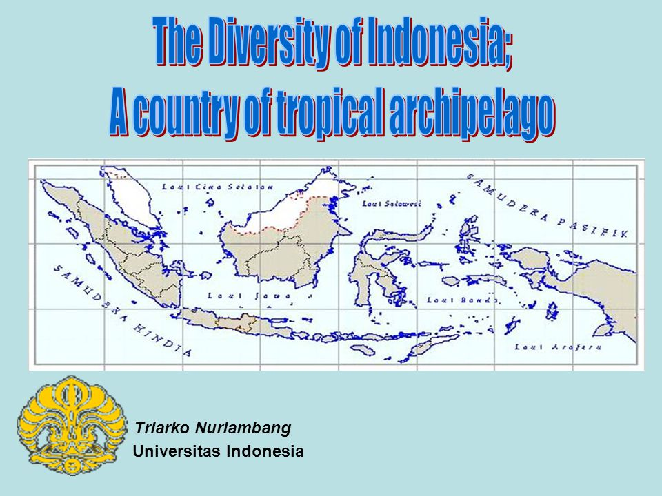 The Diversity of Indonesia; A country of tropical archipelago