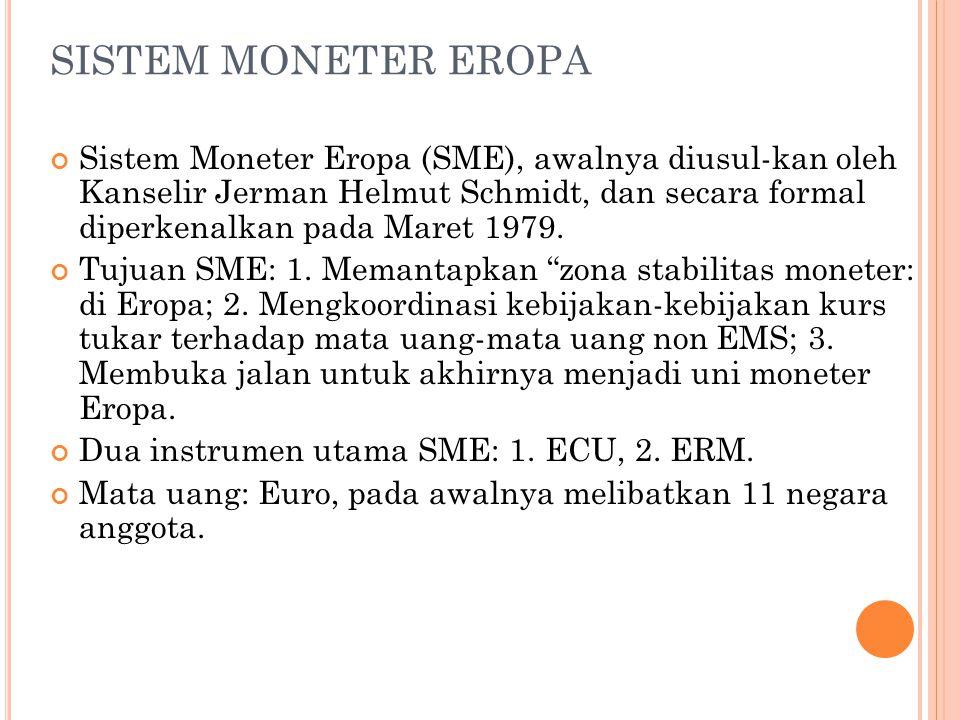 SISTEM MONETER EROPA