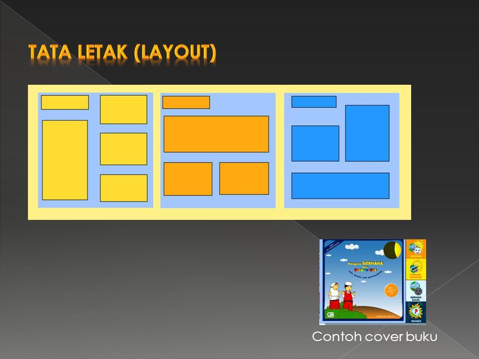 Tata Letak (Layout) Contoh cover buku