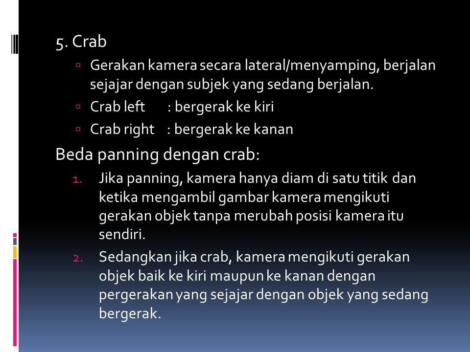 Beda panning dengan crab:
