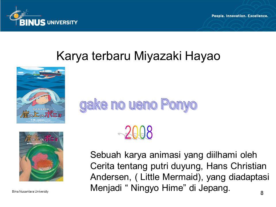 Karya terbaru Miyazaki Hayao