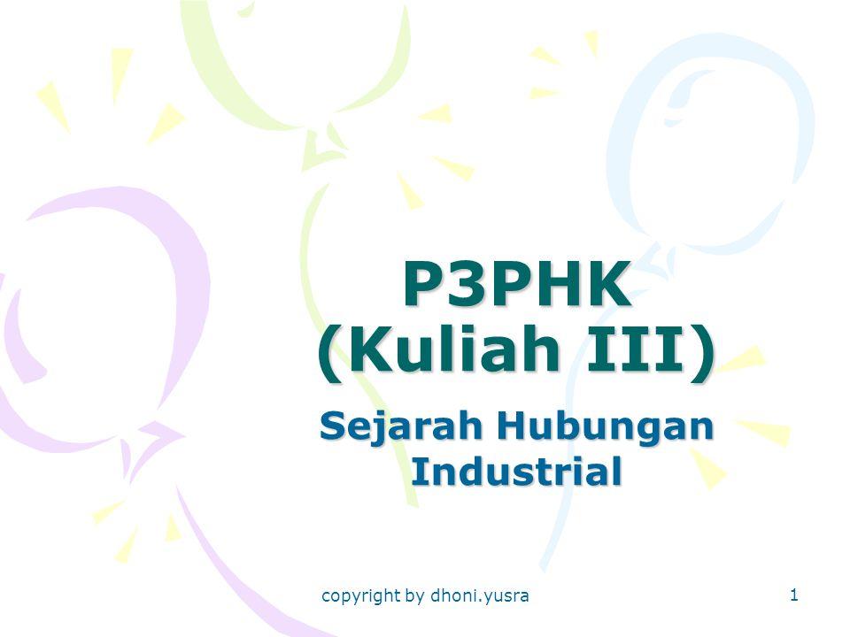 Sejarah Hubungan Industrial