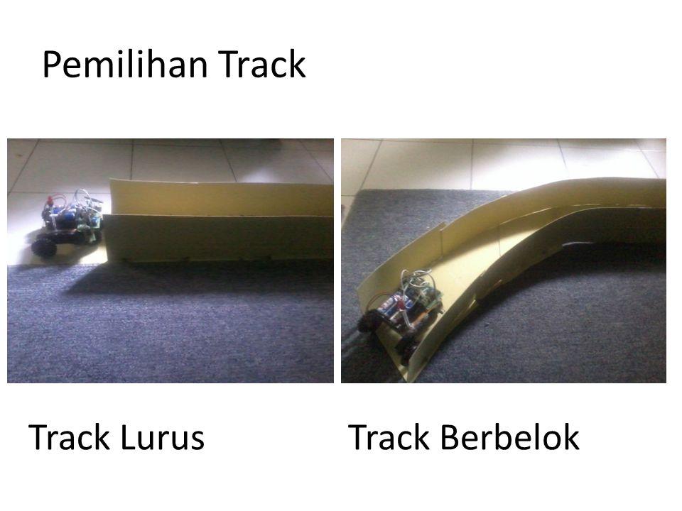 Pemilihan Track Track Lurus Track Berbelok