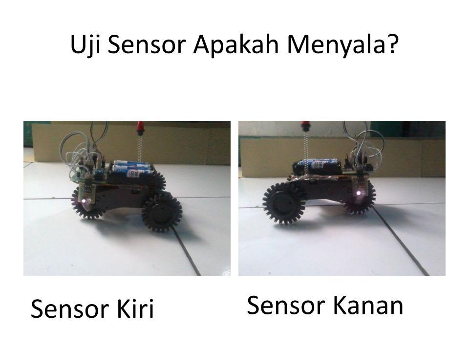 Uji Sensor Apakah Menyala