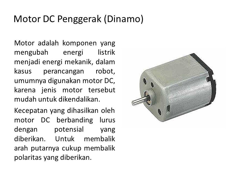 Motor DC Penggerak (Dinamo)