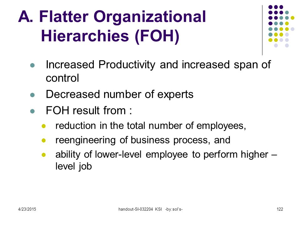A. Flatter Organizational Hierarchies (FOH)