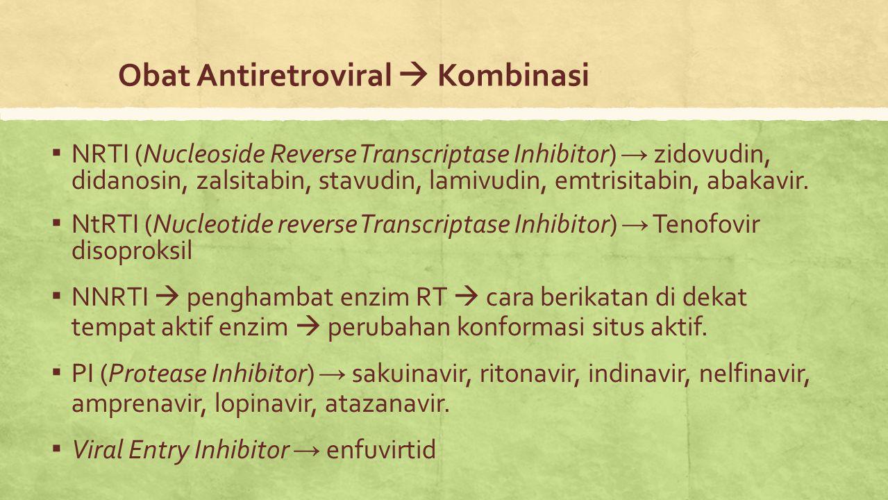 Obat Antiretroviral  Kombinasi