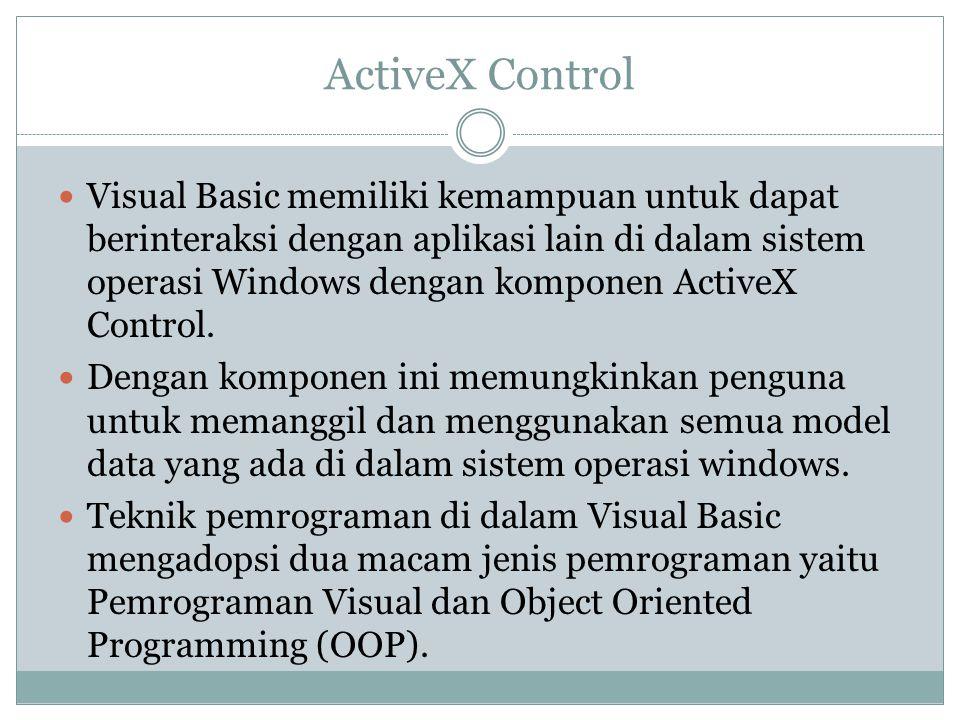 ActiveX Control