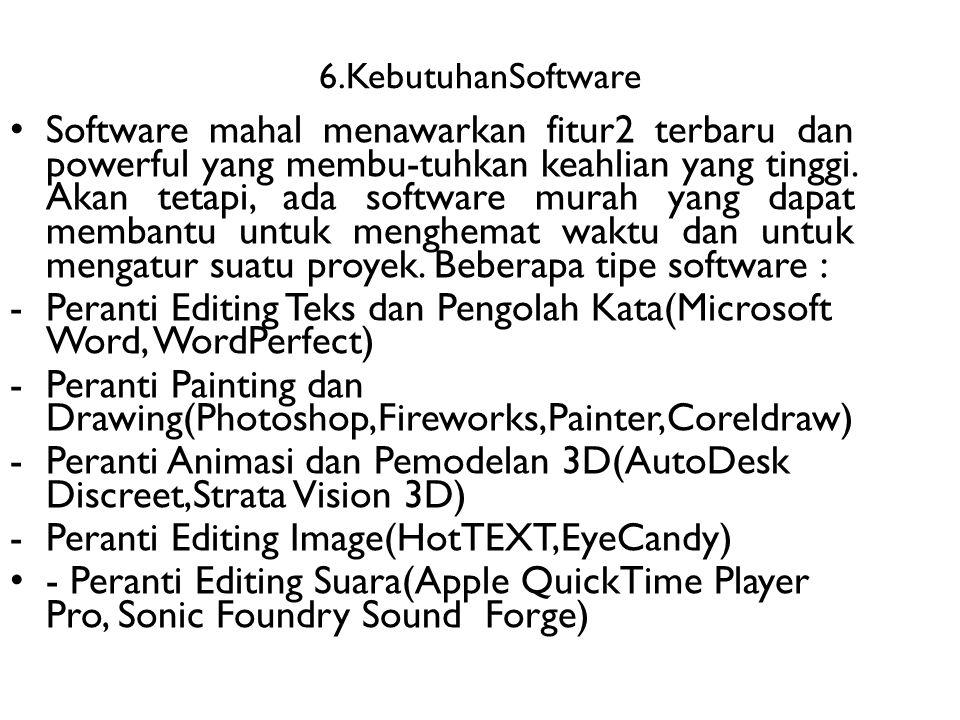 Peranti Editing Teks dan Pengolah Kata(Microsoft Word, WordPerfect)