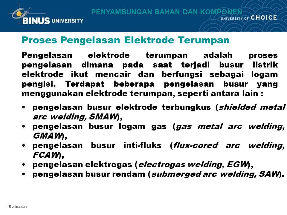 Proses Pengelasan Elektrode Terumpan