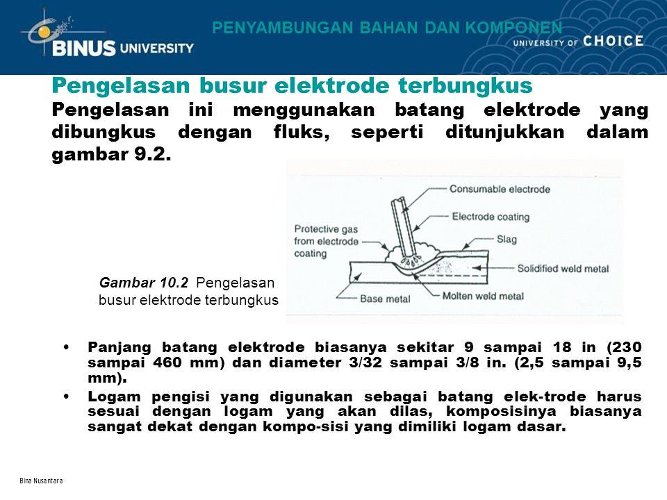 Pengelasan busur elektrode terbungkus