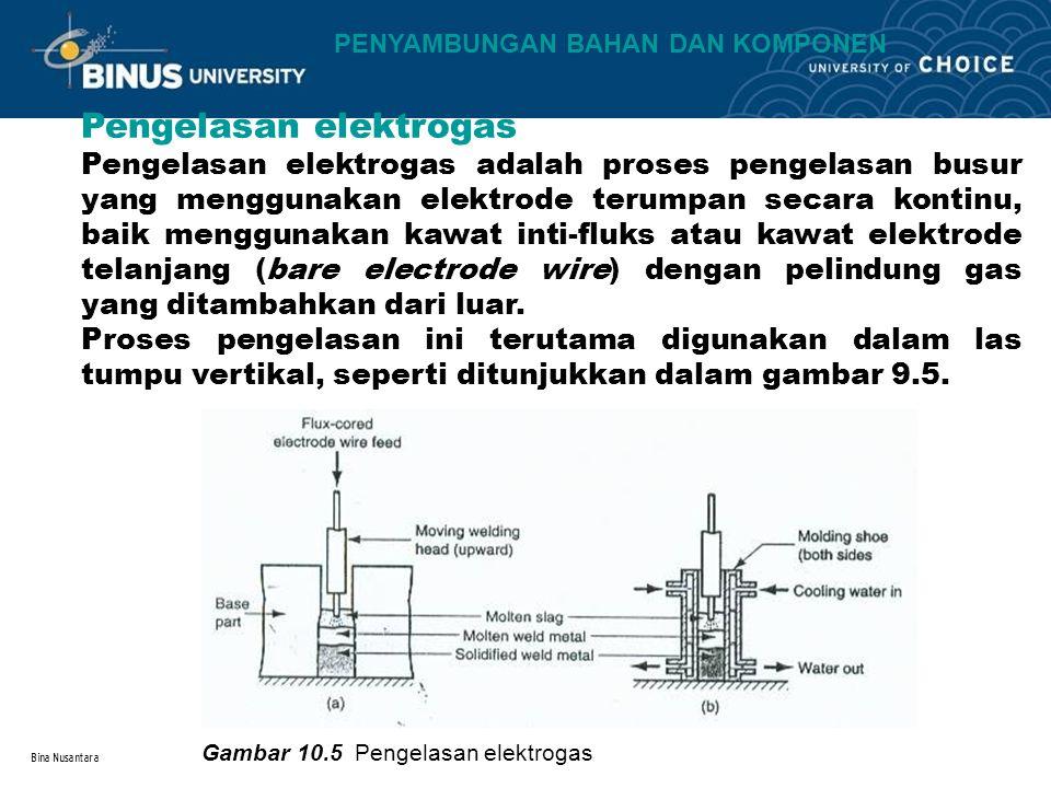 Pengelasan elektrogas
