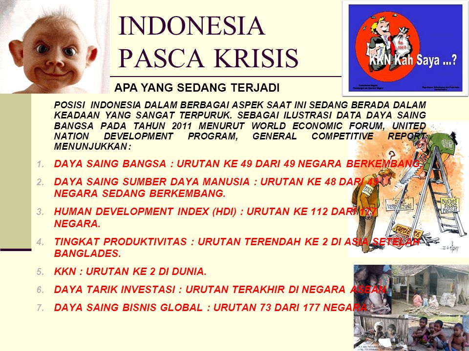 INDONESIA PASCA KRISIS