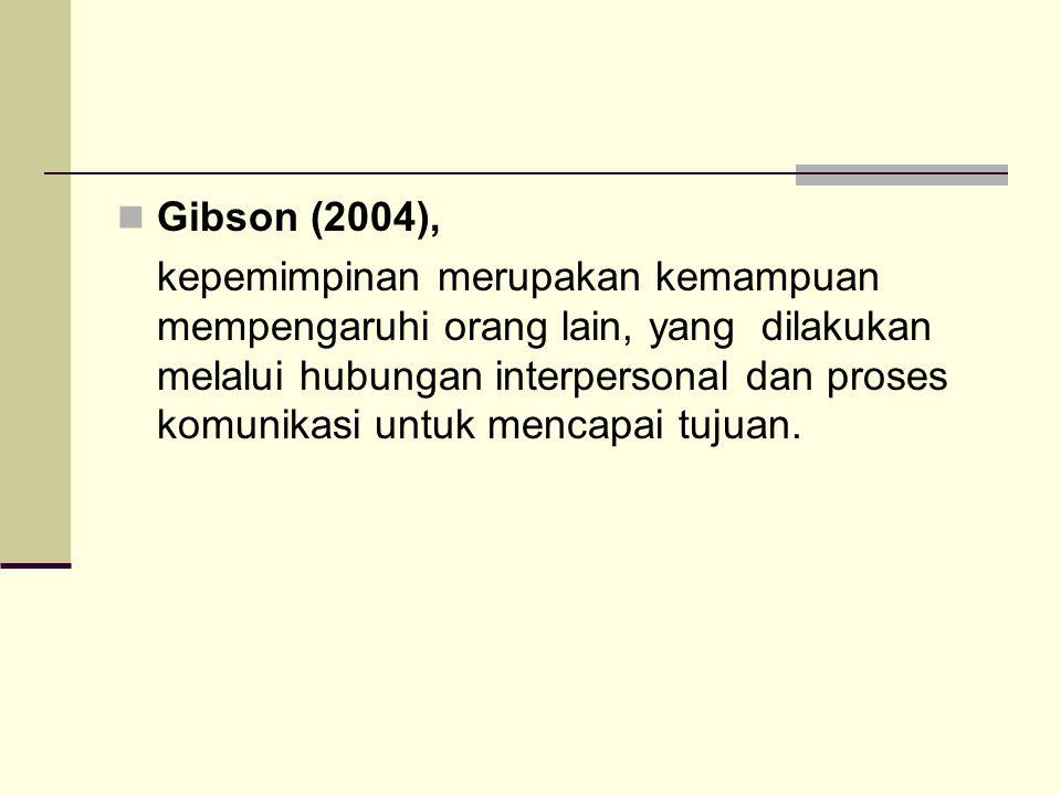 Gibson (2004),
