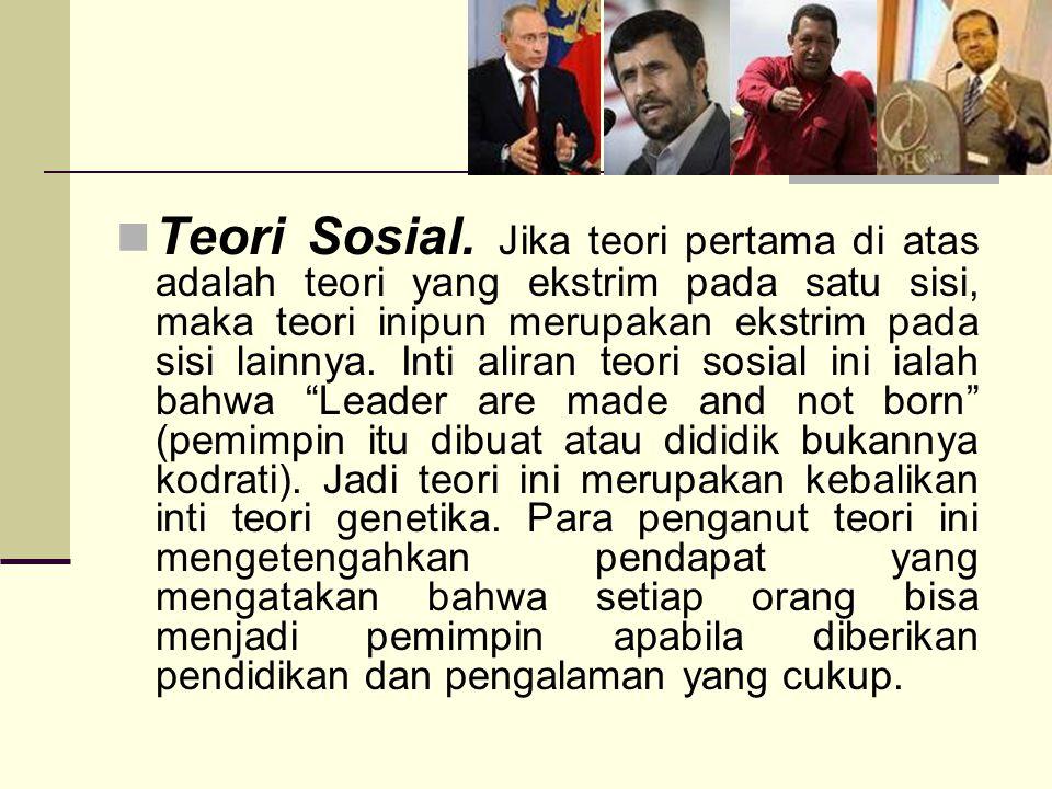 Teori Sosial.