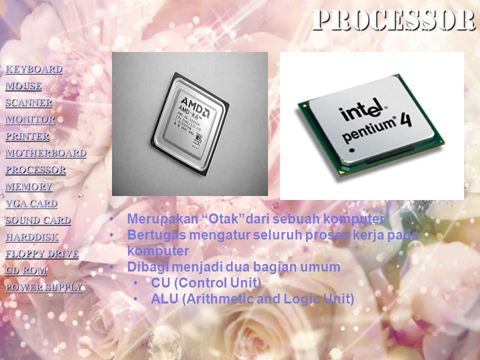 processor Merupakan Otak dari sebuah komputer