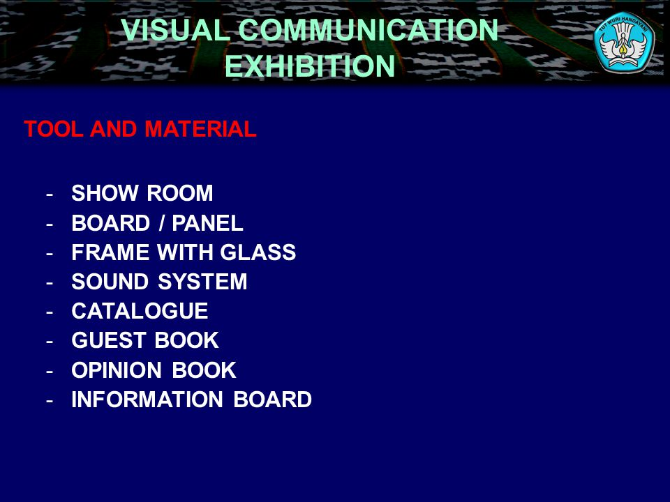 VISUAL COMMUNICATION EXHIBITION