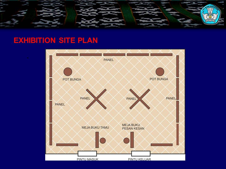 EXHIBITION SITE PLAN -