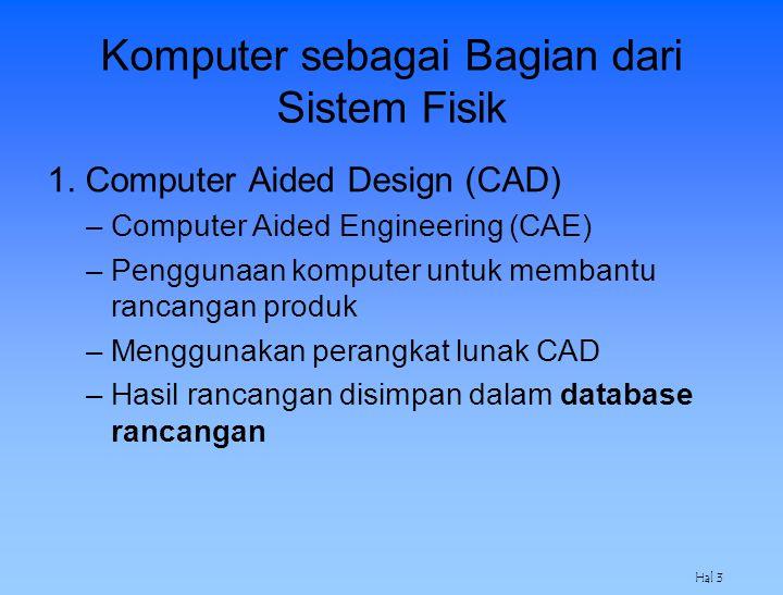 Komputer sebagai Bagian dari Sistem Fisik
