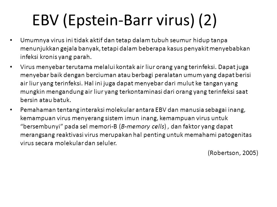 EBV (Epstein-Barr virus) (2)