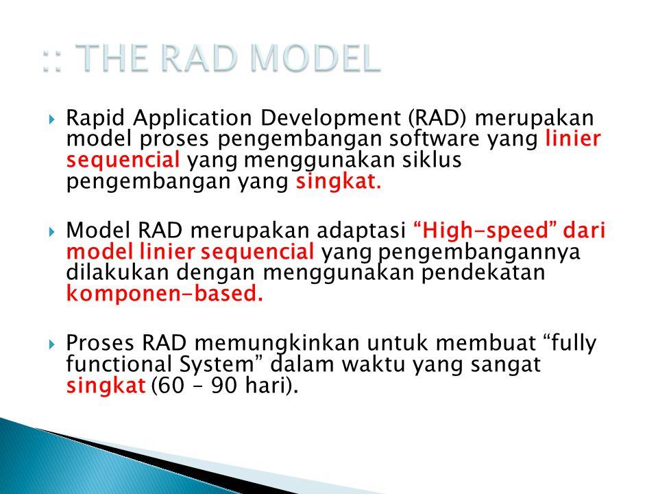 :: THE RAD MODEL