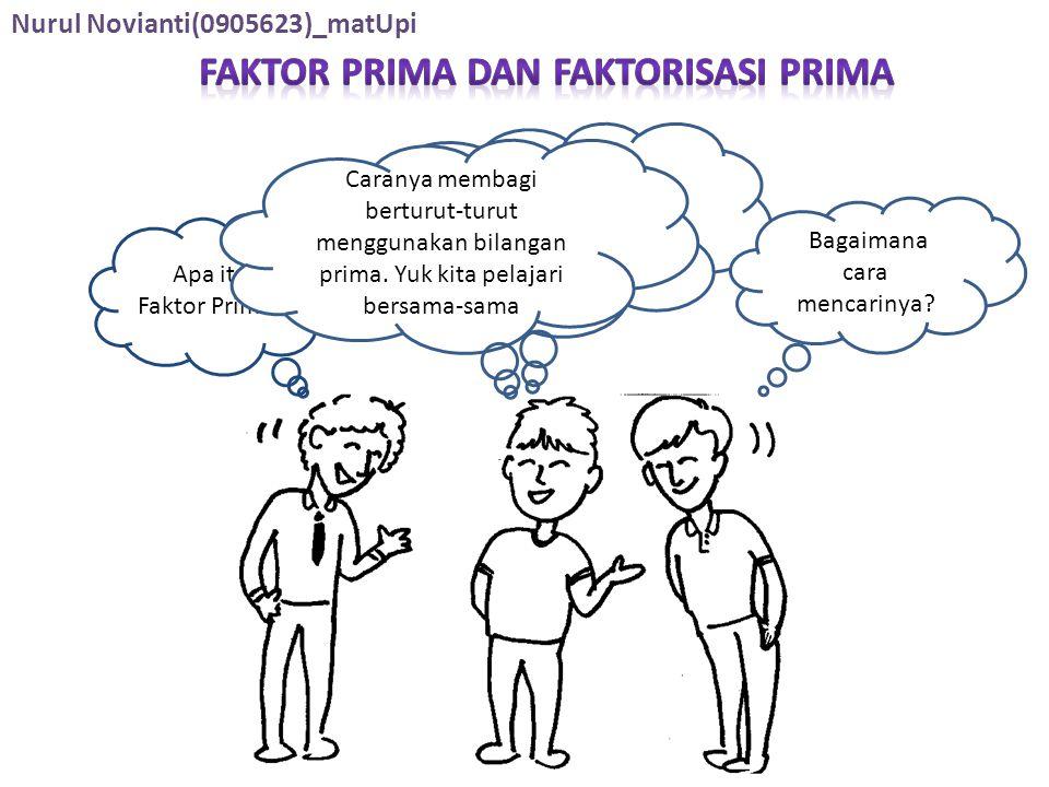 Faktor Prima Dan Faktorisasi Prima