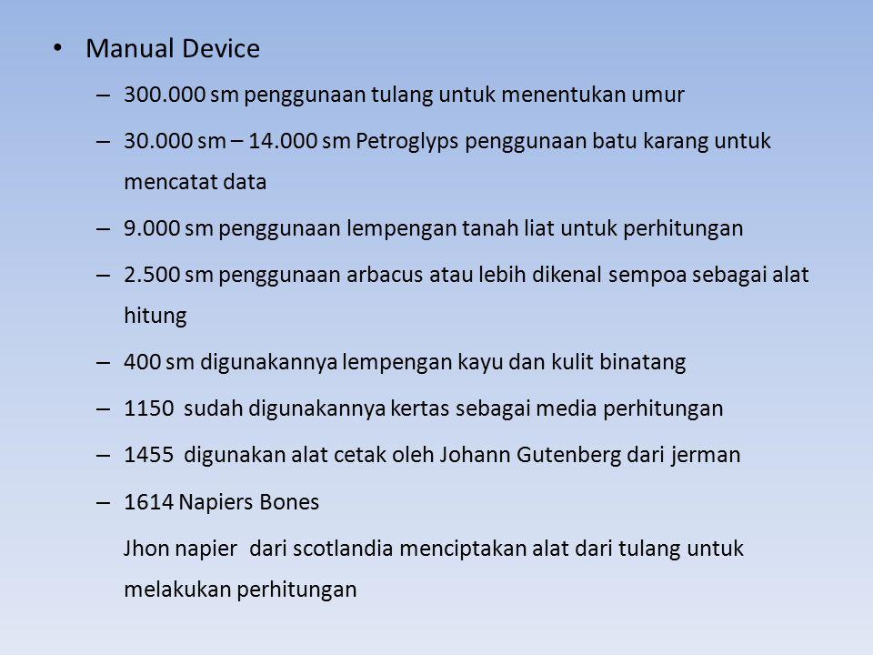 Manual Device 300.000 sm penggunaan tulang untuk menentukan umur