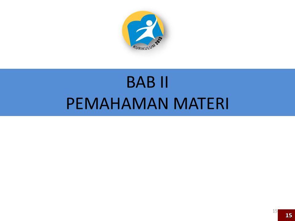 BAB II PEMAHAMAN MATERI