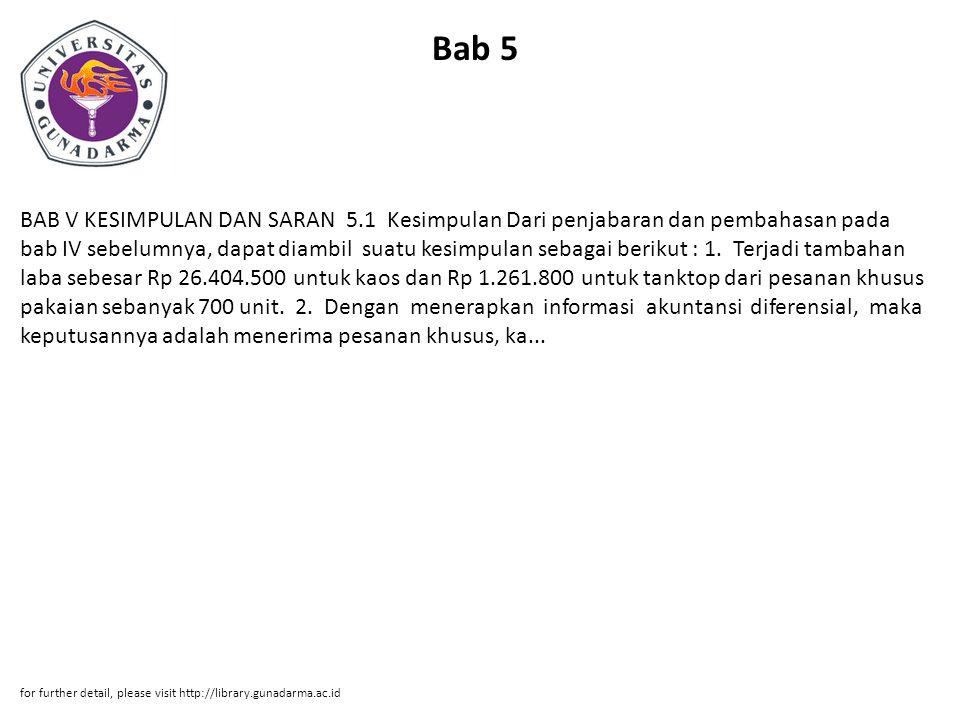 Bab 5