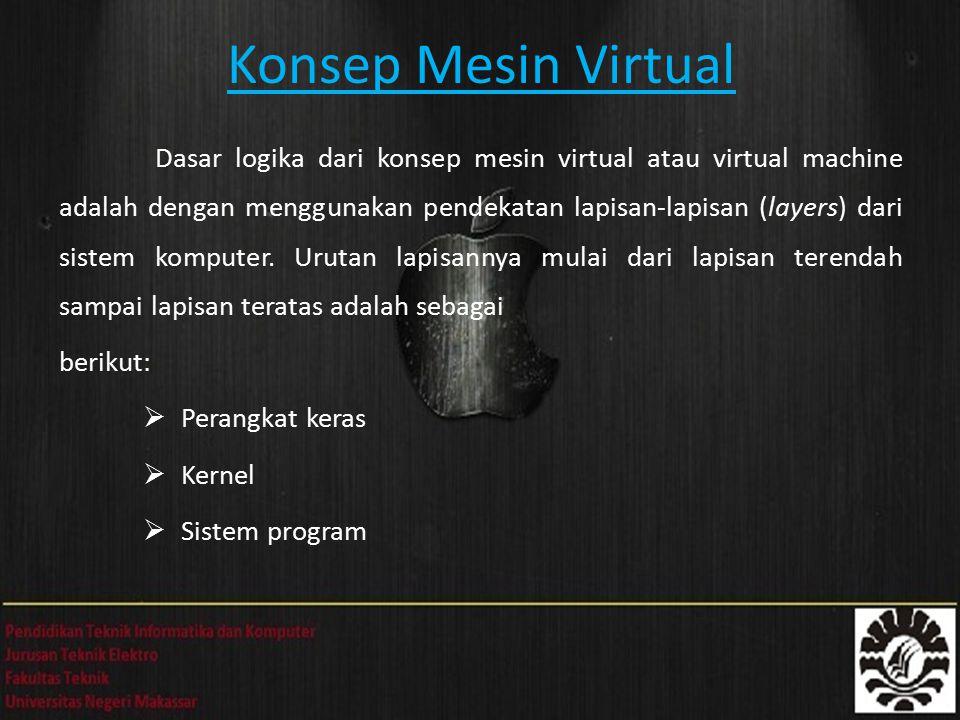 Konsep Mesin Virtual