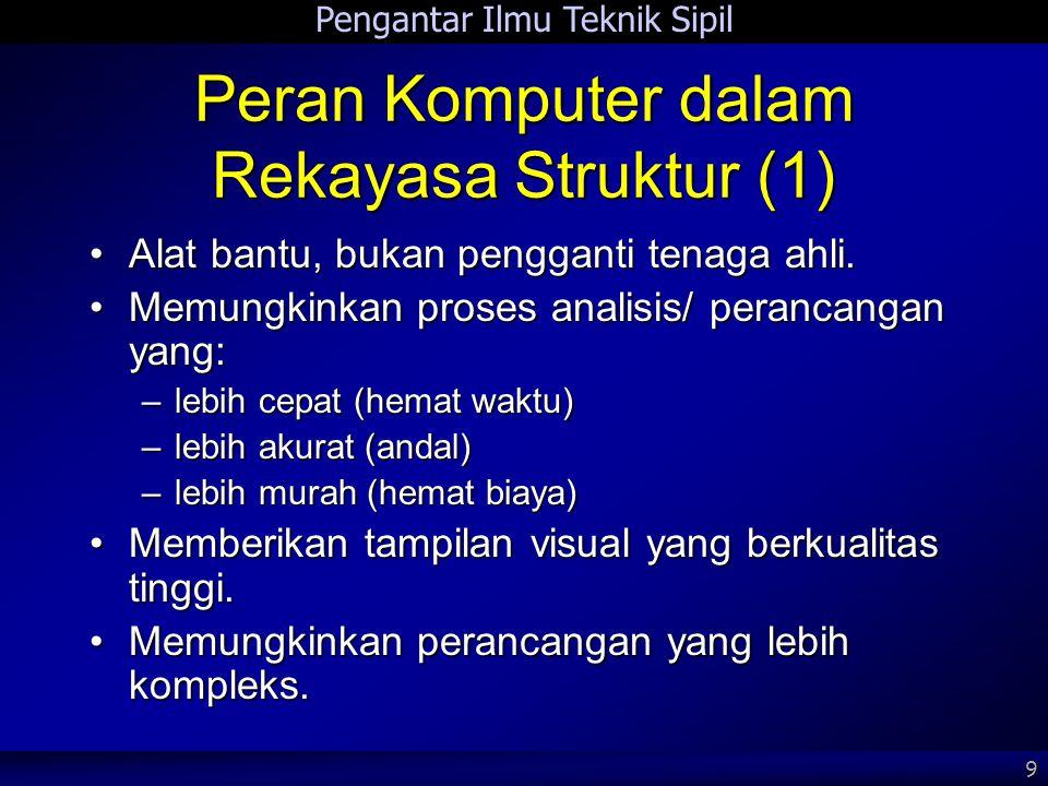 Peran Komputer dalam Rekayasa Struktur (1)