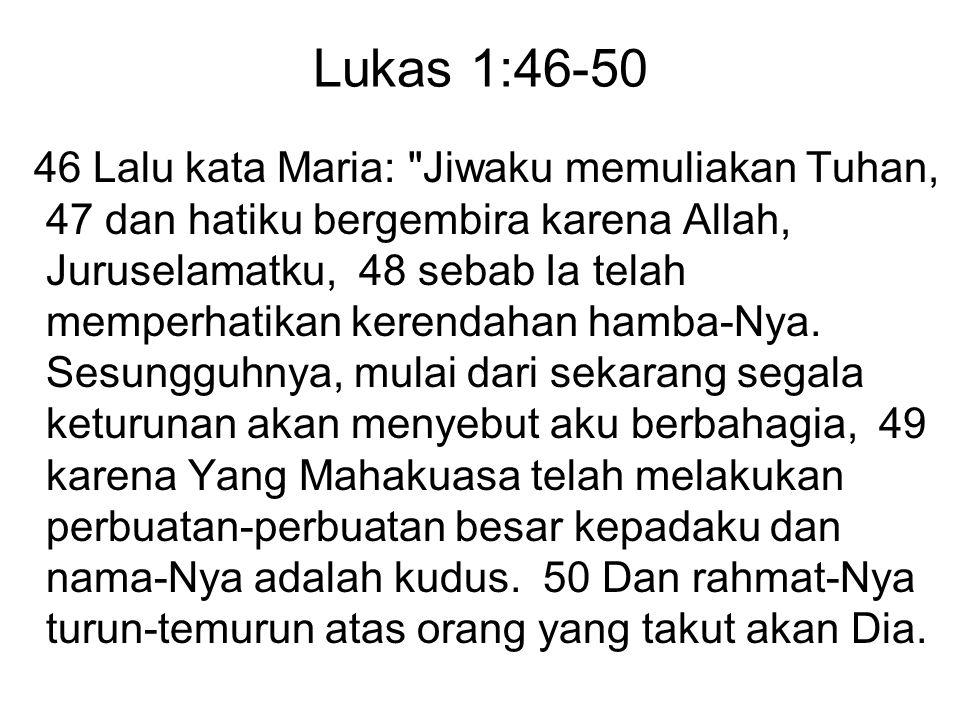 Lukas 1:46-50