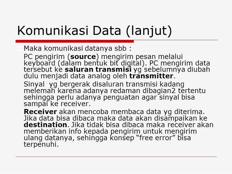 Komunikasi Data (lanjut)